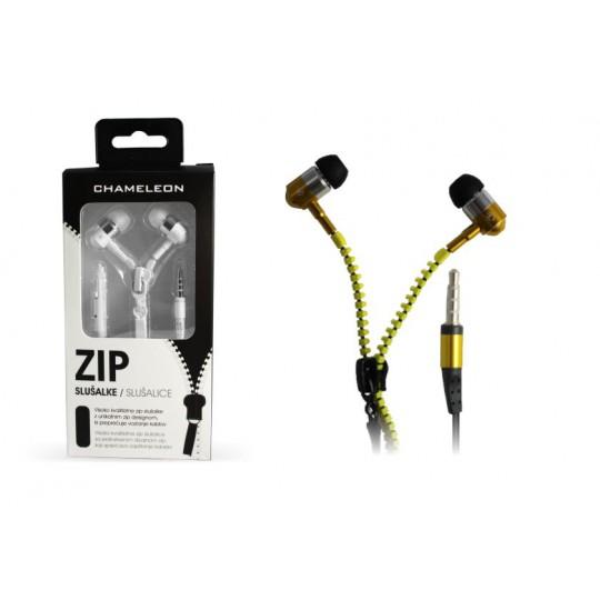 Chameleon 3.5 HI-FI stereo slušalke ZIP 2040 rumene