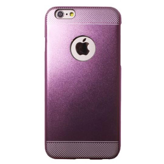 Apple iPhone 6/6S - Okrasni pokrovček (75A) - svetlo roza