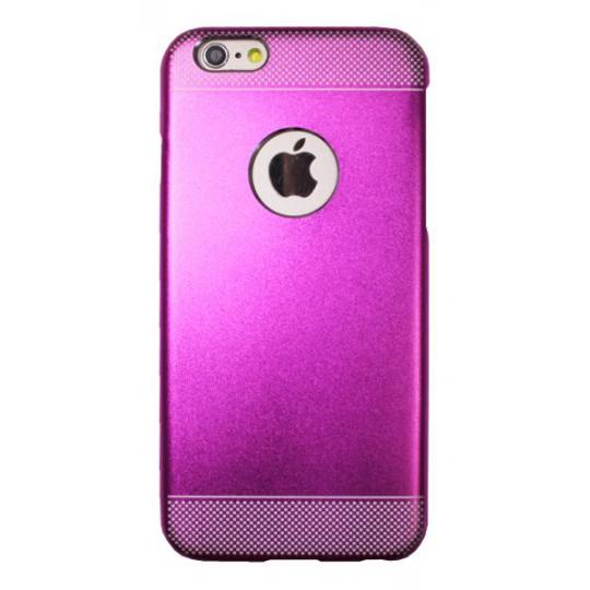 Apple iPhone 6/6S - Okrasni pokrovček (75A) - temno roza