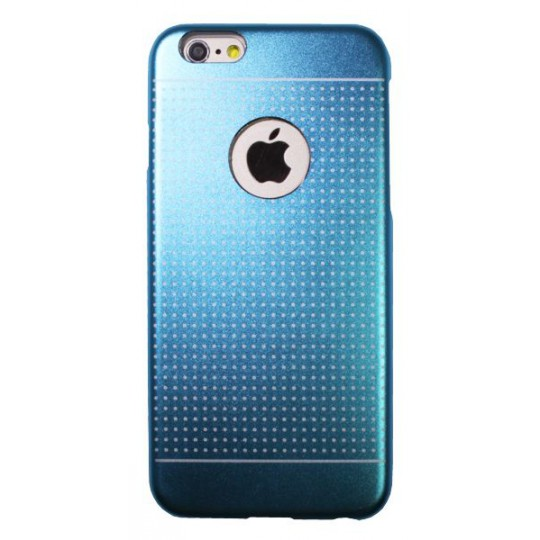 Apple iPhone 6/6S - Okrasni pokrovček (75B) - modra