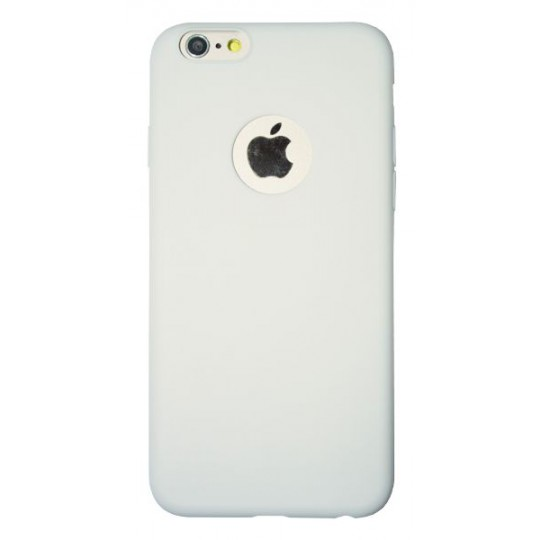 Apple iPhone 6/6S - Gumiran ovitek (23) - bel