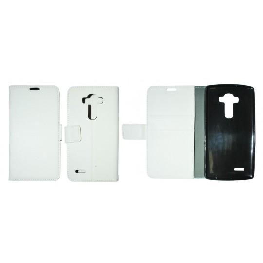 LG G4 - Preklopna torbica (WLG) - bela