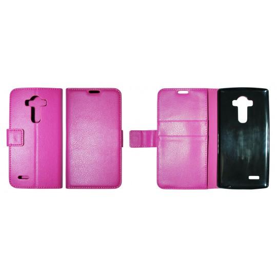 LG G4 - Preklopna torbica (WLG) - roza