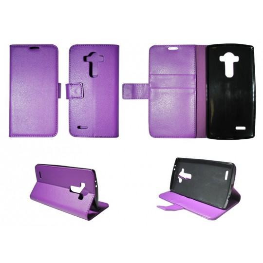 LG G4 - Preklopna torbica (WLG) - vijolična