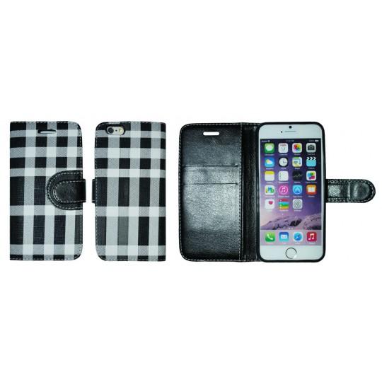 Apple iPhone 6/6S - Preklopna torbica (TKP) - črna