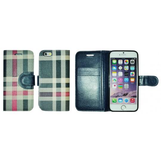 Apple iPhone 6/6S - Preklopna torbica (TKP) - modra