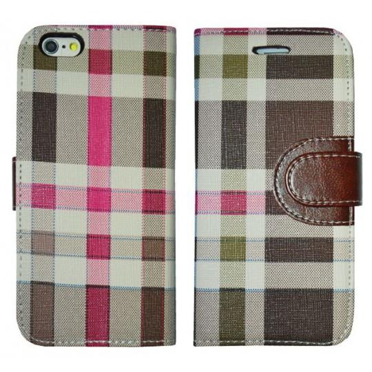Apple iPhone 6/6S - Preklopna torbica (TKP) - rjava