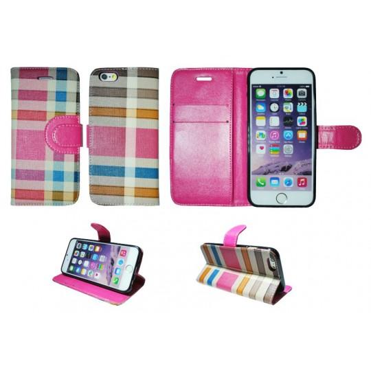 Apple iPhone 6/6S - Preklopna torbica (TKP) - roza