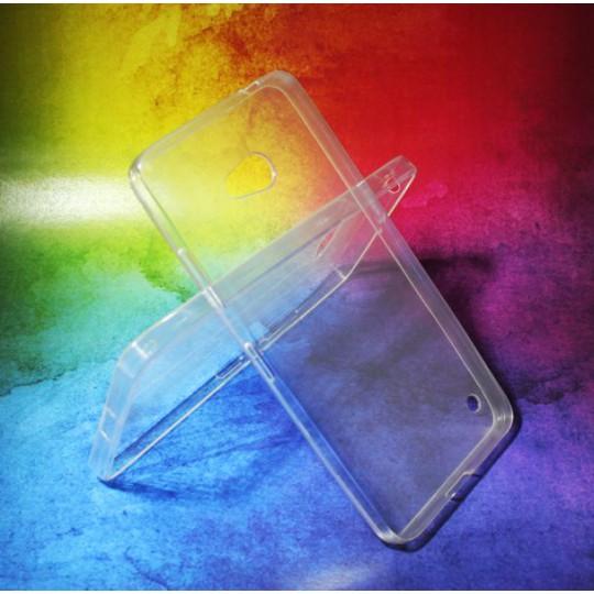 Microsoft Lumia 640 LTE - Gumiran ovitek (TPUA) - prosojen