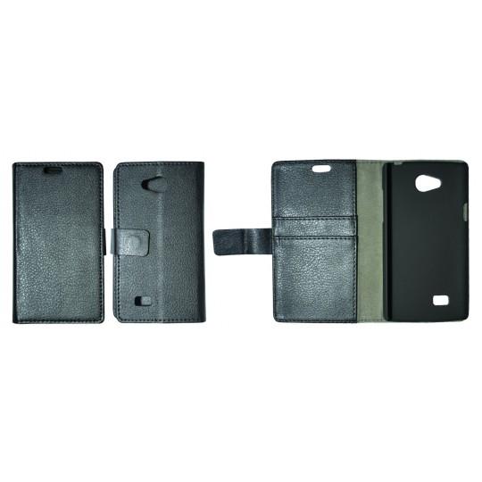 LG Joy - Preklopna torbica (WL) - črna