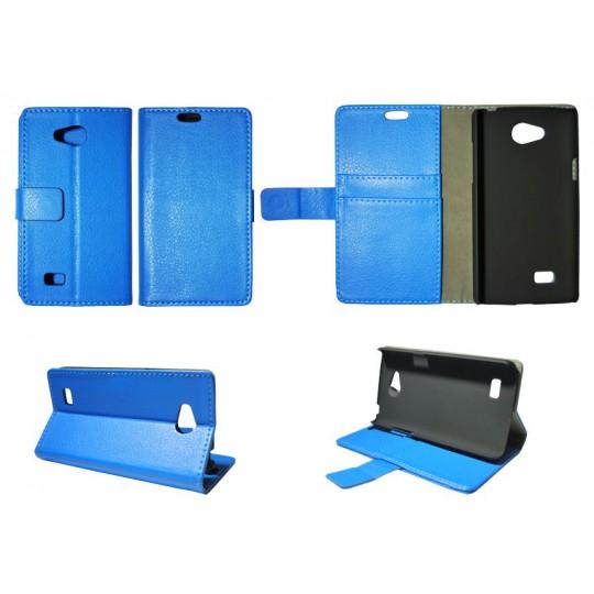 LG Joy - Preklopna torbica (WL) - modra
