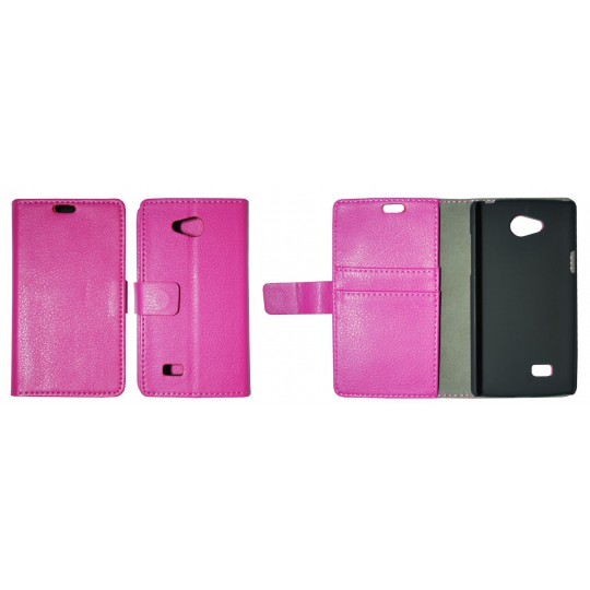 LG Joy - Preklopna torbica (WL) - roza
