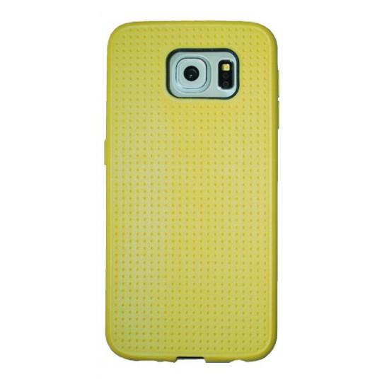 Samsung Galaxy S6 - Gumiran ovitek (08) - rumen