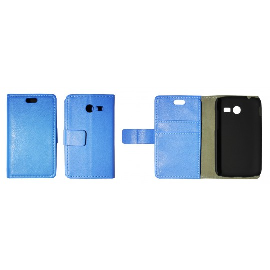 Samsung Galaxy Pocket 2 - Preklopna torbica (WL) - modra