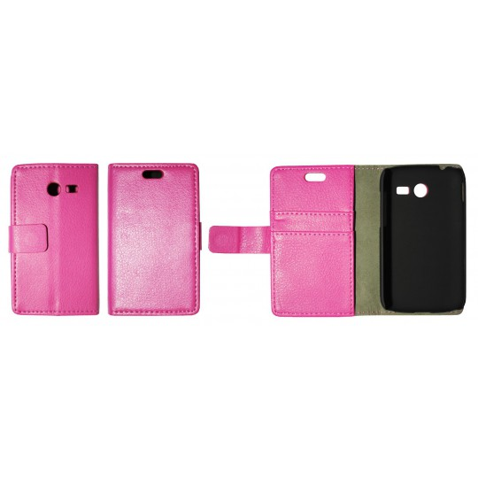 Samsung Galaxy Pocket 2 - Preklopna torbica (WL) - roza