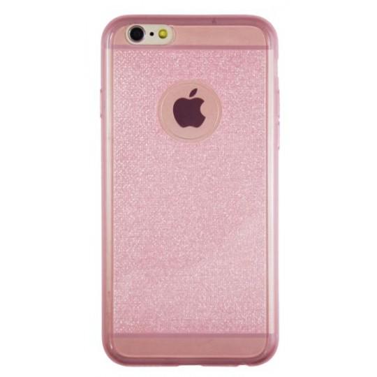 Apple iPhone 6/6S - Gumiran ovitek (21A) - roza