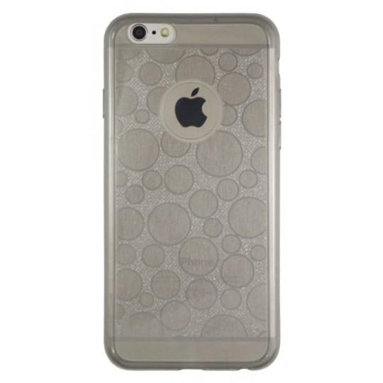 Apple iPhone 6/6S - Gumiran ovitek (21krogci) - siv