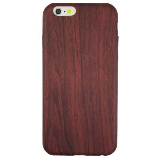 Apple iPhone 6/6S - Gumiran ovitek (27) - temno rdeč