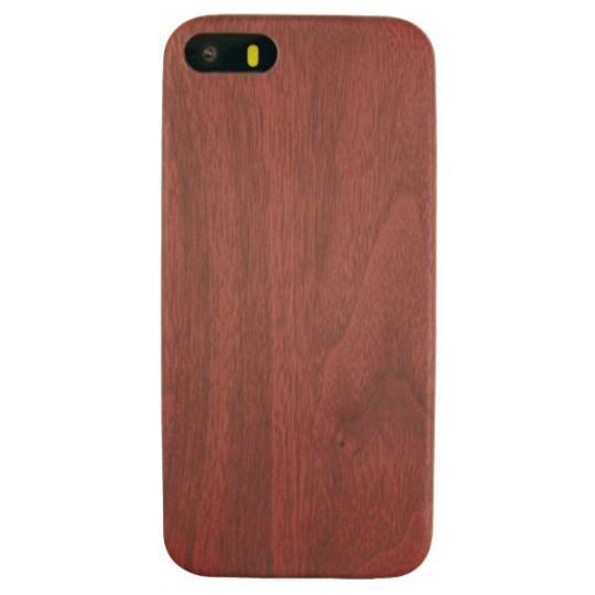 Apple iPhone 5S/5S/SE - Gumiran ovitek (27) - temno rdeč