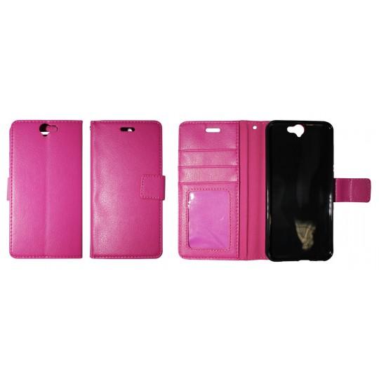HTC One A9 - Preklopna torbica (WLG) - roza