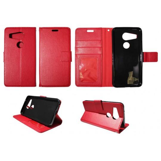 LG Nexus 5X - Preklopna torbica (WLG) - rdeča