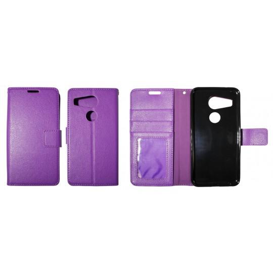 LG Nexus 5X - Preklopna torbica (WLG) - vijolična