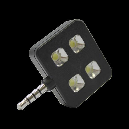 Chameleon mini LED bliskavica - črna