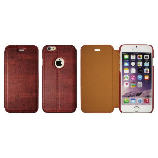 Apple iPhone 6/6S - Preklopna torbica (88) - temno rdeča