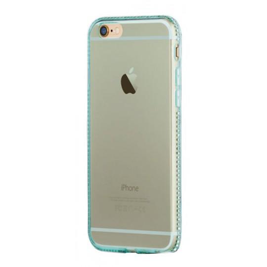 Apple iPhone 6/6S - Gumiran ovitek (TPUD) - rob zelen