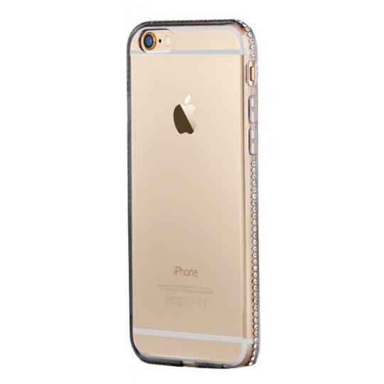 Apple iPhone 6/6S - Gumiran ovitek (TPUD) - rob siv