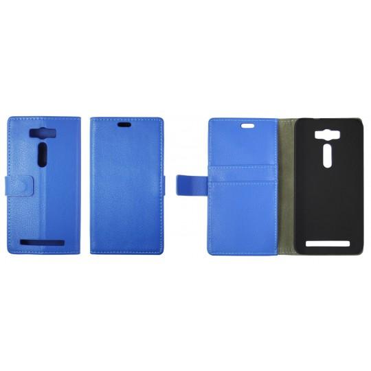 Asus Zenfone 2 Laser ZE500KL - Preklopna torbica (WL) - modra