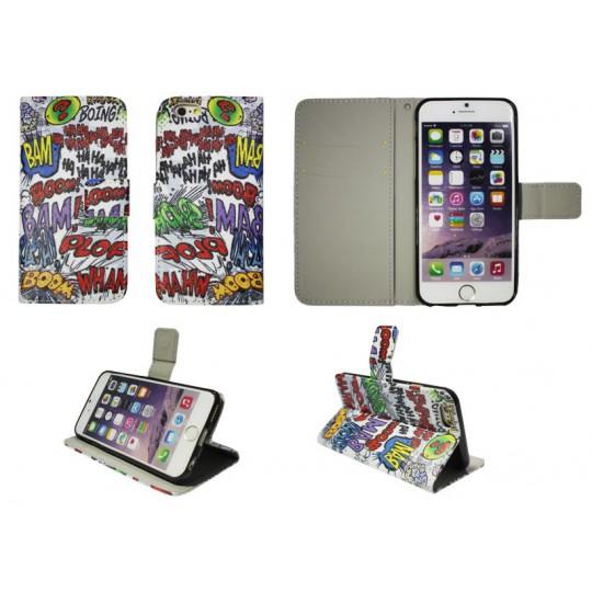 Apple iPhone 6/6S - Preklopna torbica (WLGP) - Boom bam
