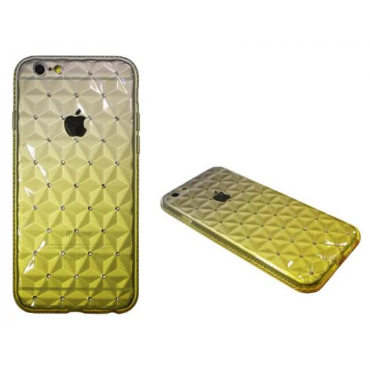 Apple iPhone 6/6S - Gumiran ovitek (TPUD) - 3D rumen