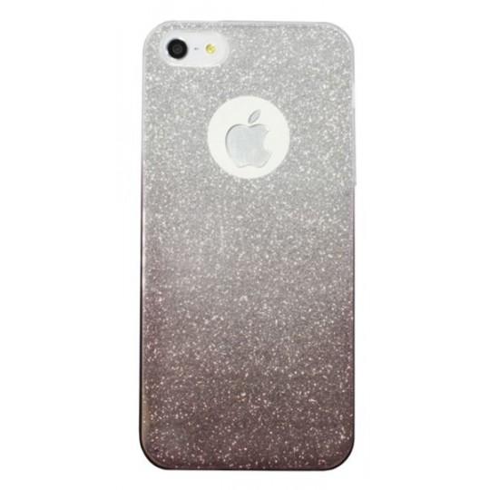 Apple iPhone 5/5S/SE - Gumiran ovitek (TPUB) - kavna