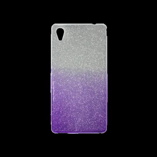 Sony Xperia M4 Aqua - Gumiran ovitek (TPUB) - vijolična