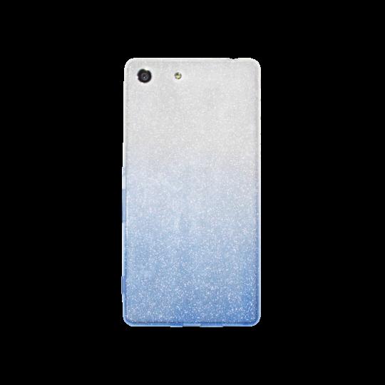 Sony Xperia M5 - Gumiran ovitek (TPUB) - modra