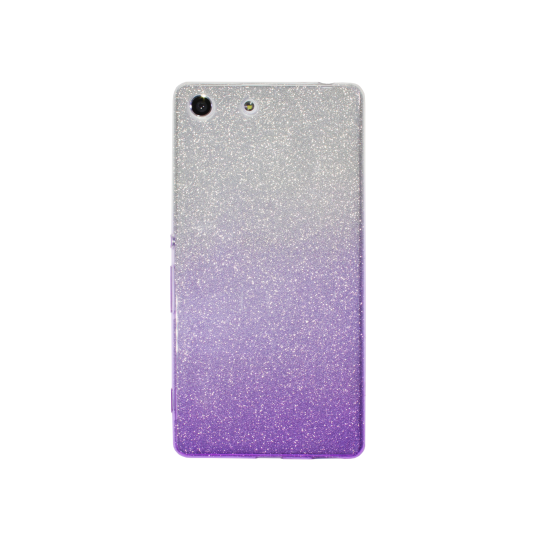 Sony Xperia M5 - Gumiran ovitek (TPUB) - vijolična