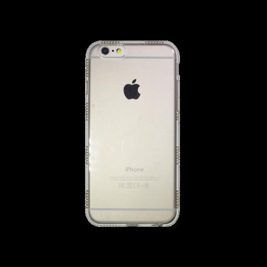 Apple iPhone 6/6S - Gumiran ovitek (TPUD) - rob1 bel