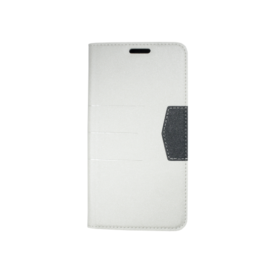 Samsung Galaxy J7 (2016) - Preklopna torbica (47G) - bela