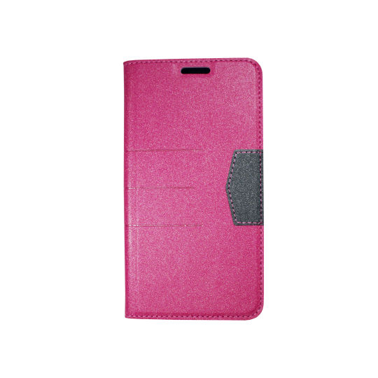 Samsung Galaxy J7 (2016) - Preklopna torbica (47G) - roza