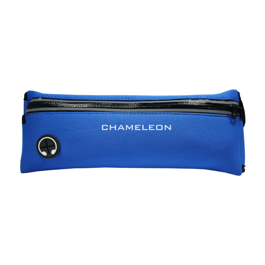 Športna torbica za okoli pasu Neopren (PT) - temno modra