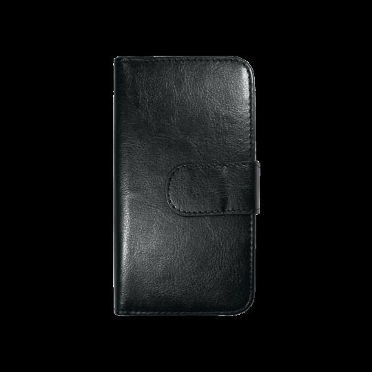 Apple iPhone 6/6S - Preklopna torbica (WLD) - črna