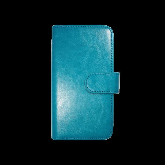 Apple iPhone 6/6S - Preklopna torbica (WLD) - modra