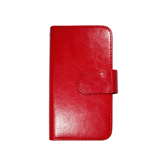 Apple iPhone 6/6S - Preklopna torbica (WLD) - rdeča