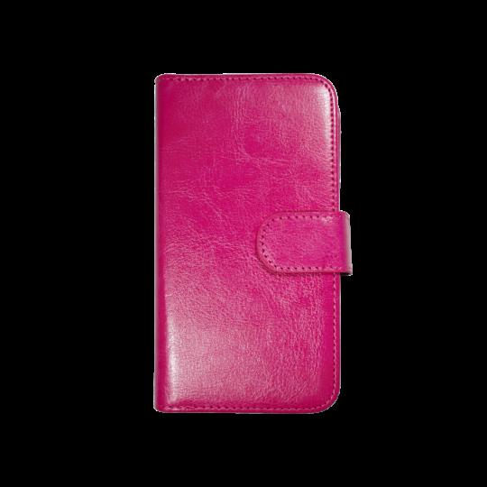 Apple iPhone 6/6S - Preklopna torbica (WLD) - roza