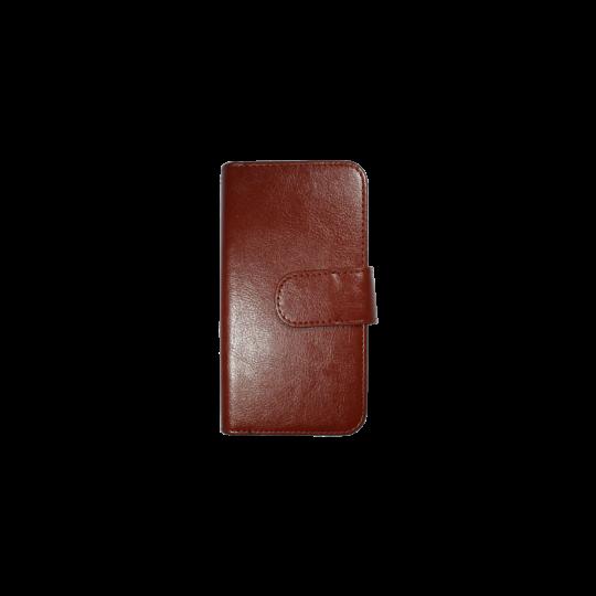 Apple iPhone 6Plus/6SPlus - Preklopna torbica (WLD) - rjava