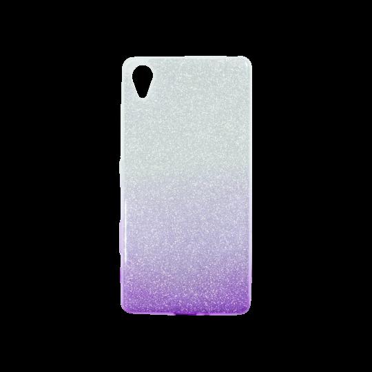 Sony Xperia X - Gumiran ovitek (TPUB) - vijolična