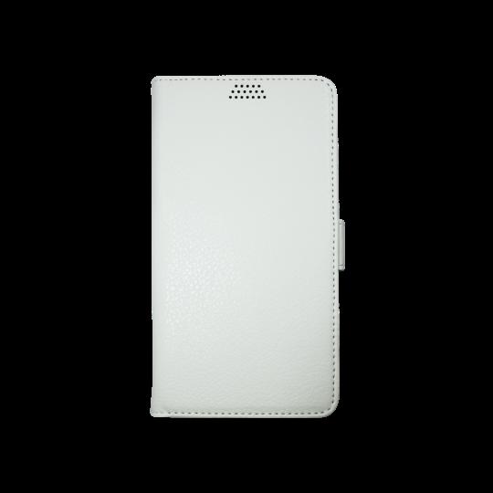 HTC 10/10 Lifestyle - Preklopna torbica (WLG) - bela