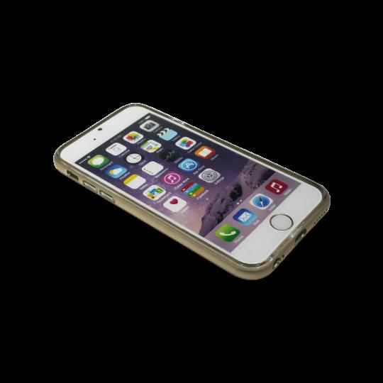 Apple iPhone 6Plus/6SPlus - Gumiran ovitek (TPU+ALU) - zlat