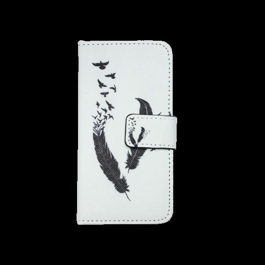 Apple iPhone 5/5S/SE - Preklopna torbica (WLGP) - Feather